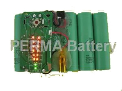 Smart Li-ion battery with fuel gauge